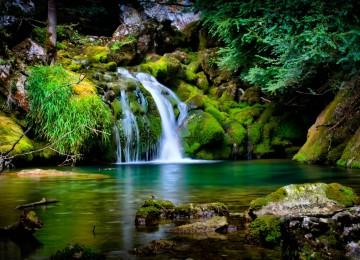 Waterfall Computer Wallpaper