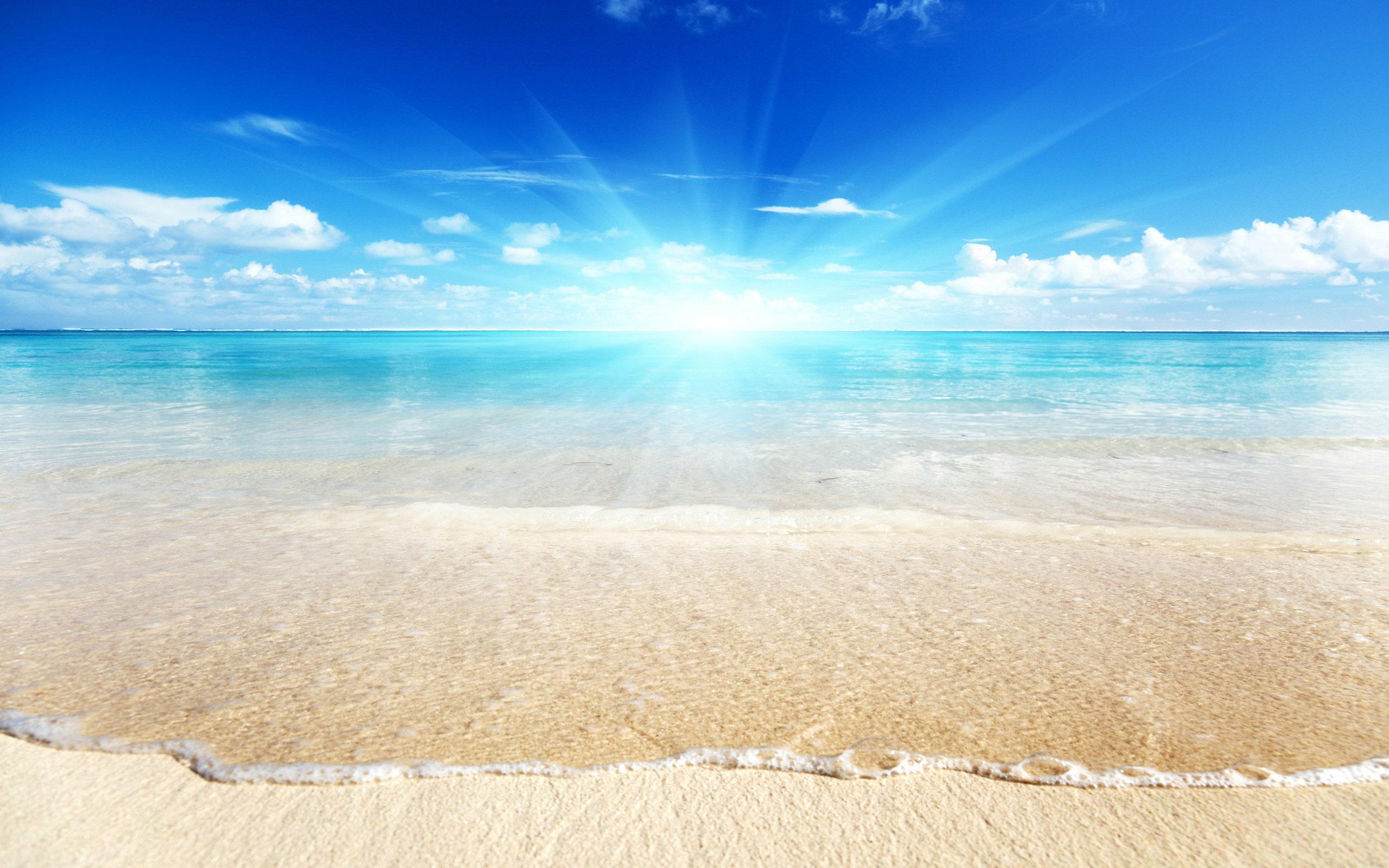 Widescreen Beach Wallpaper