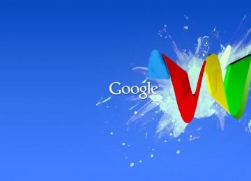 Abstract Google Wallpaper