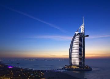Exterior Burj Al Arab