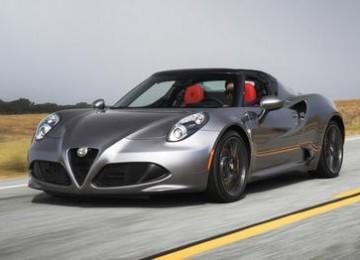 Grey Alfa Romeo 4C