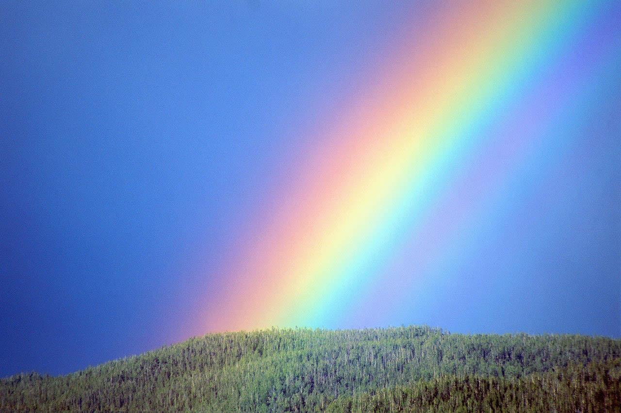 Landscape Rainbow Photo
