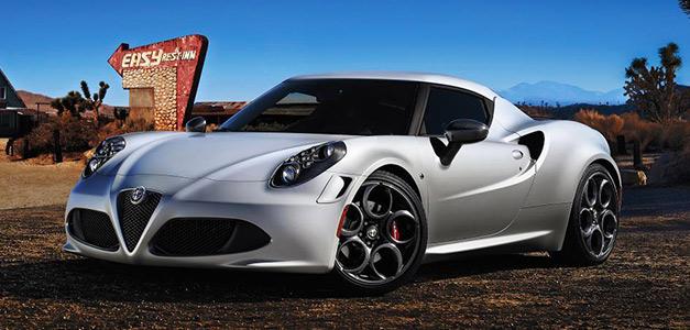 Nice Alfa Romeo 4C