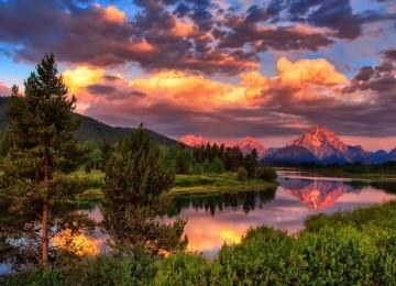 Beautiful Landscape Scene