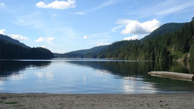 Buntzen Lake Full Width Nature