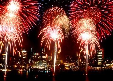 Detroit Fireworks Photos