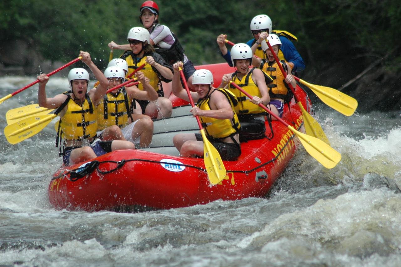 Amazing Water Raft