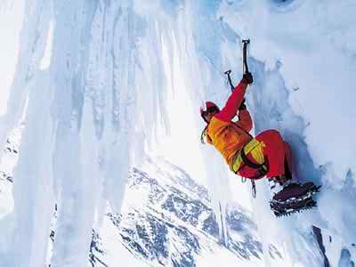 Awesome Ice Climbing Photos