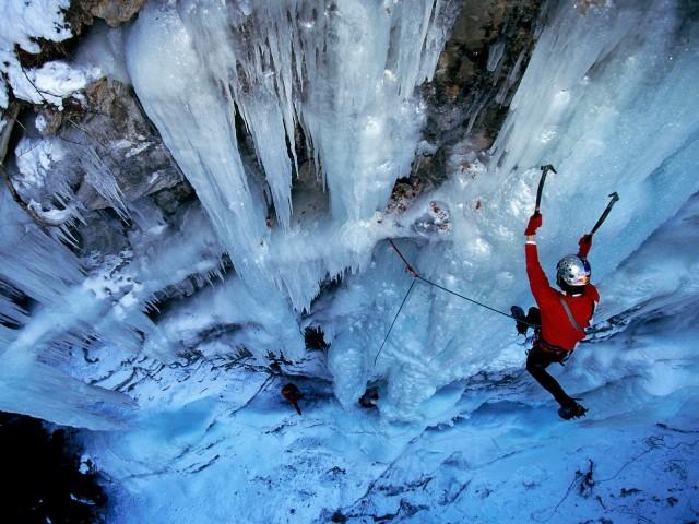 Beautiful Ice Climbing Photos