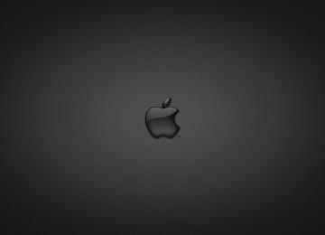 Black HD Apple Wallpaper