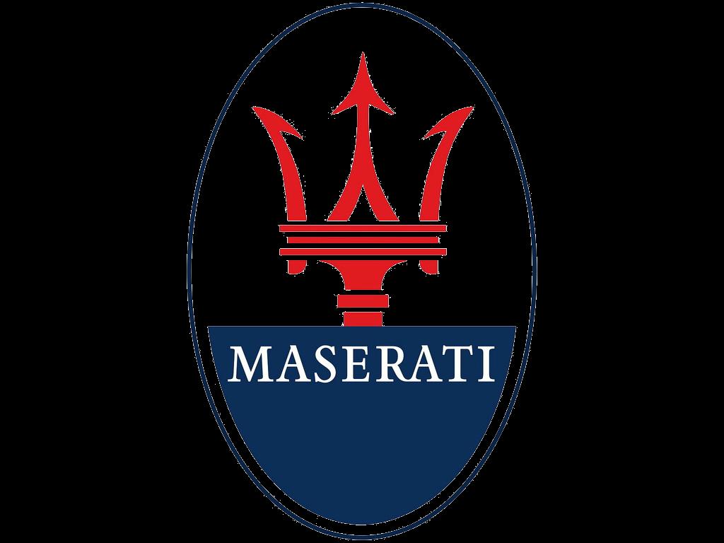 3D Maserati Logo