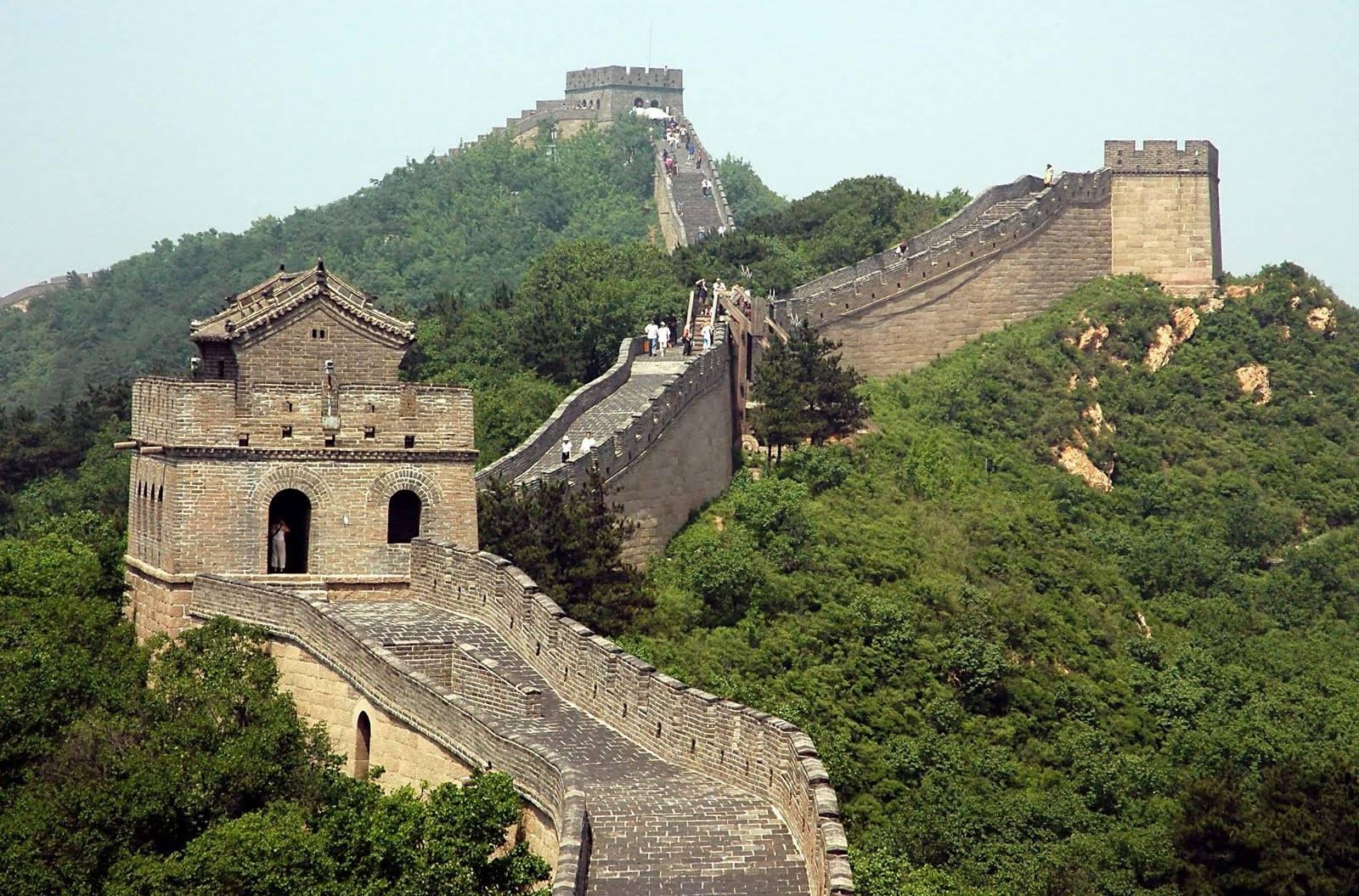 Beautiful China Wall Photos