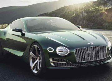 Green Bentley Car