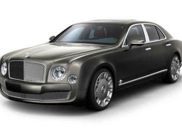 Widescreen Bentley Car