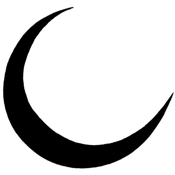 Unmounted Crescent Moon