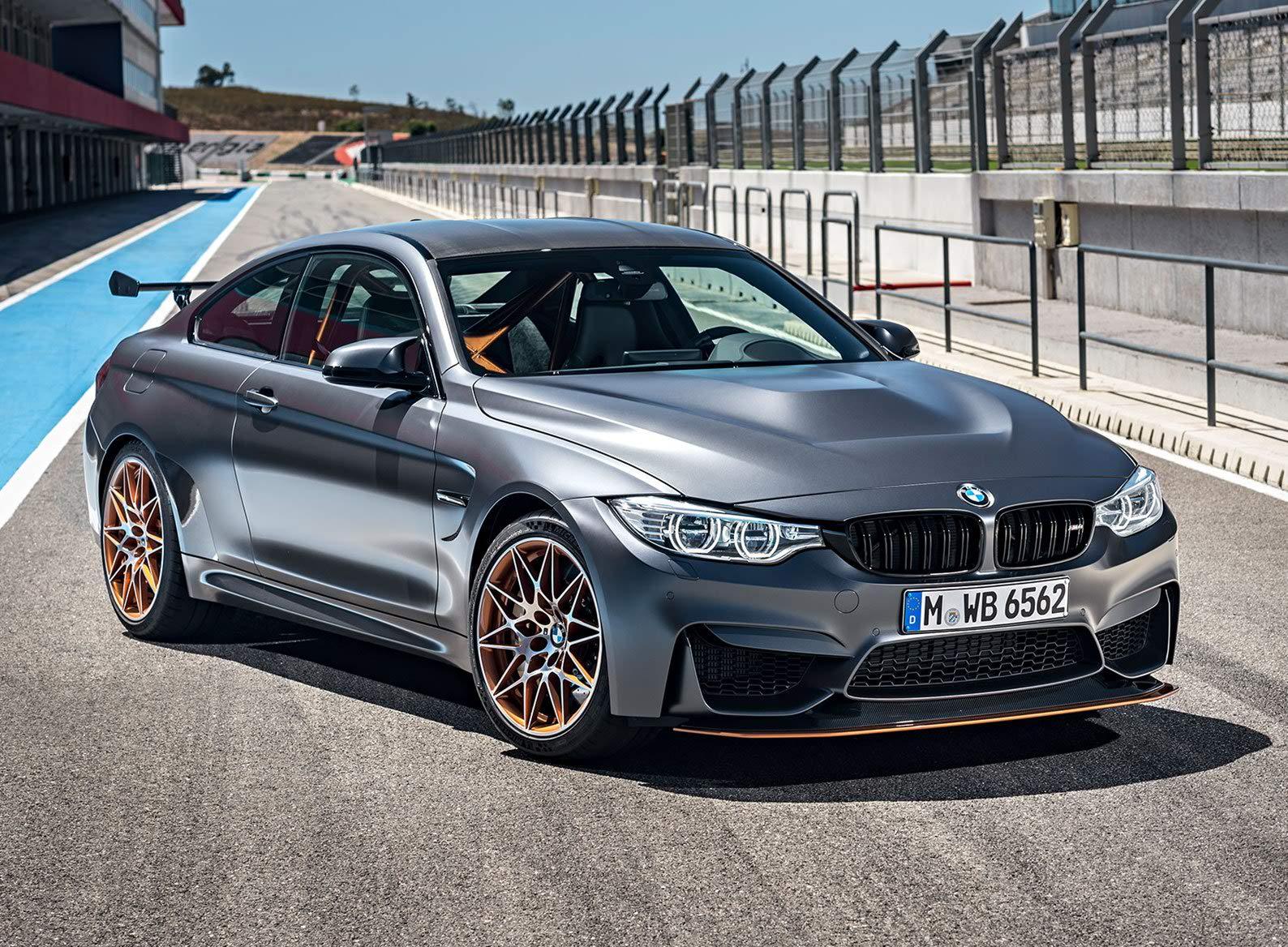 Grey BMW M4