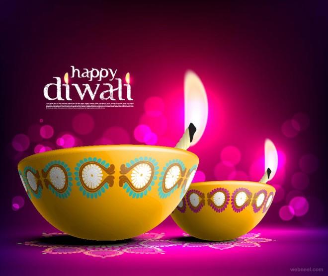 3D Diwali Card