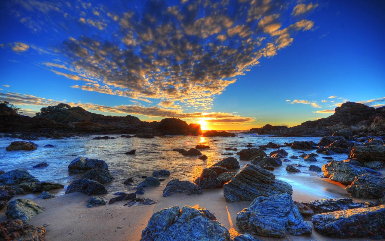 Free HDR Beach