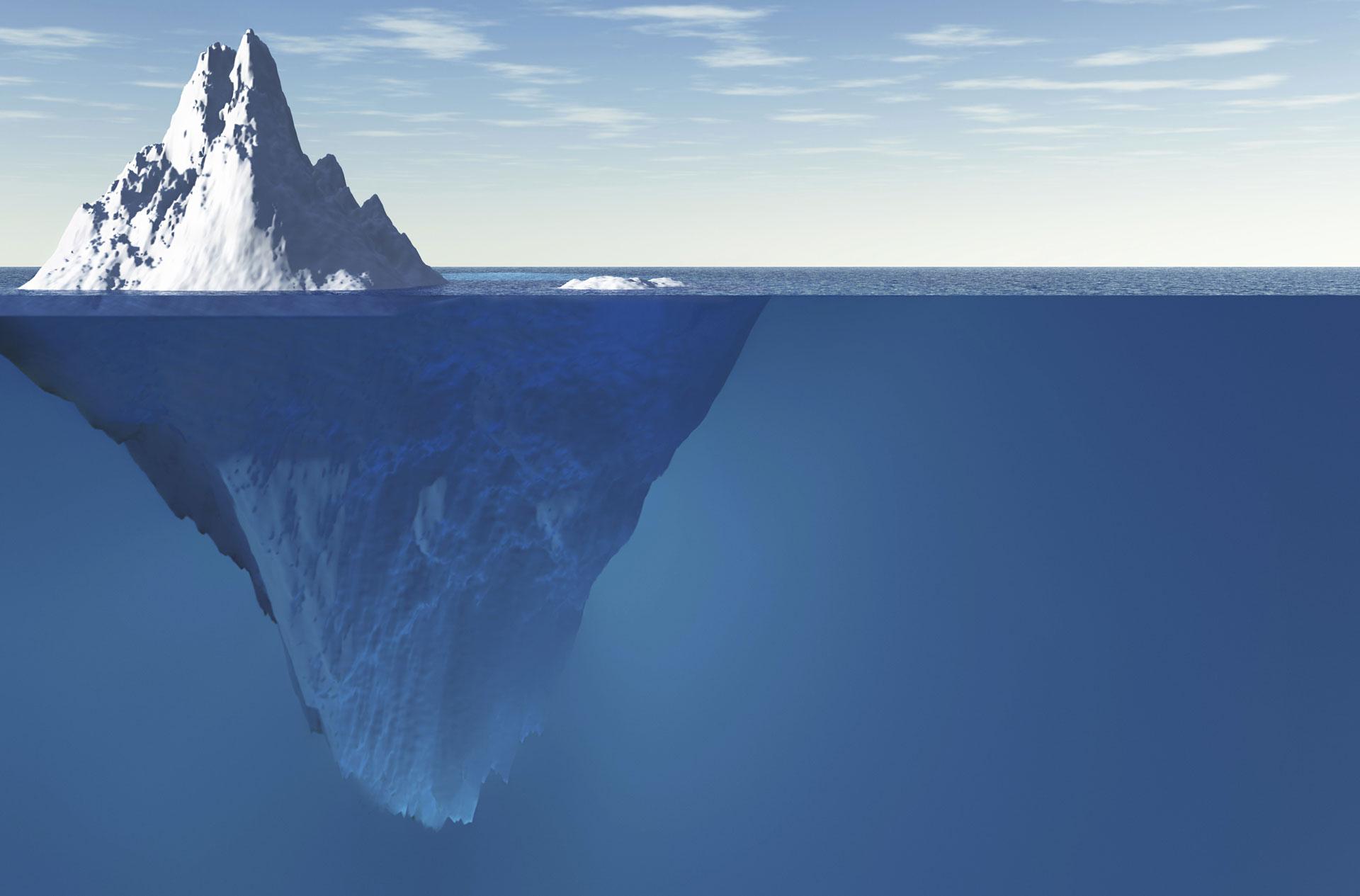 Natural Iceberg