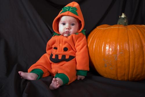 Cute Halloween Baby