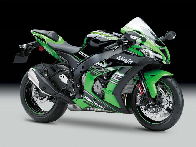 Green Kawasaki