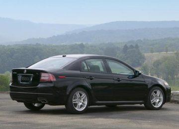 Black 2004 Acura TL