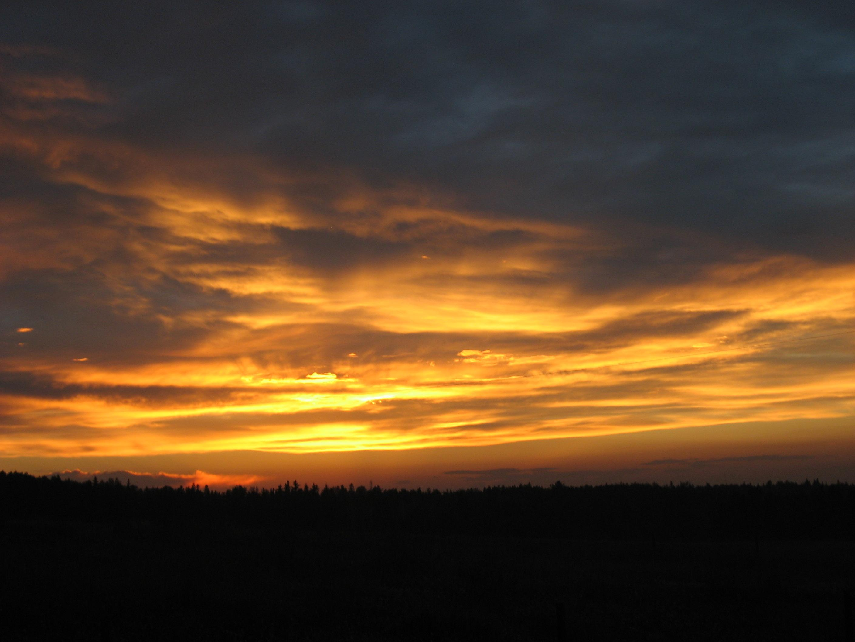 Natural Dark Sunset