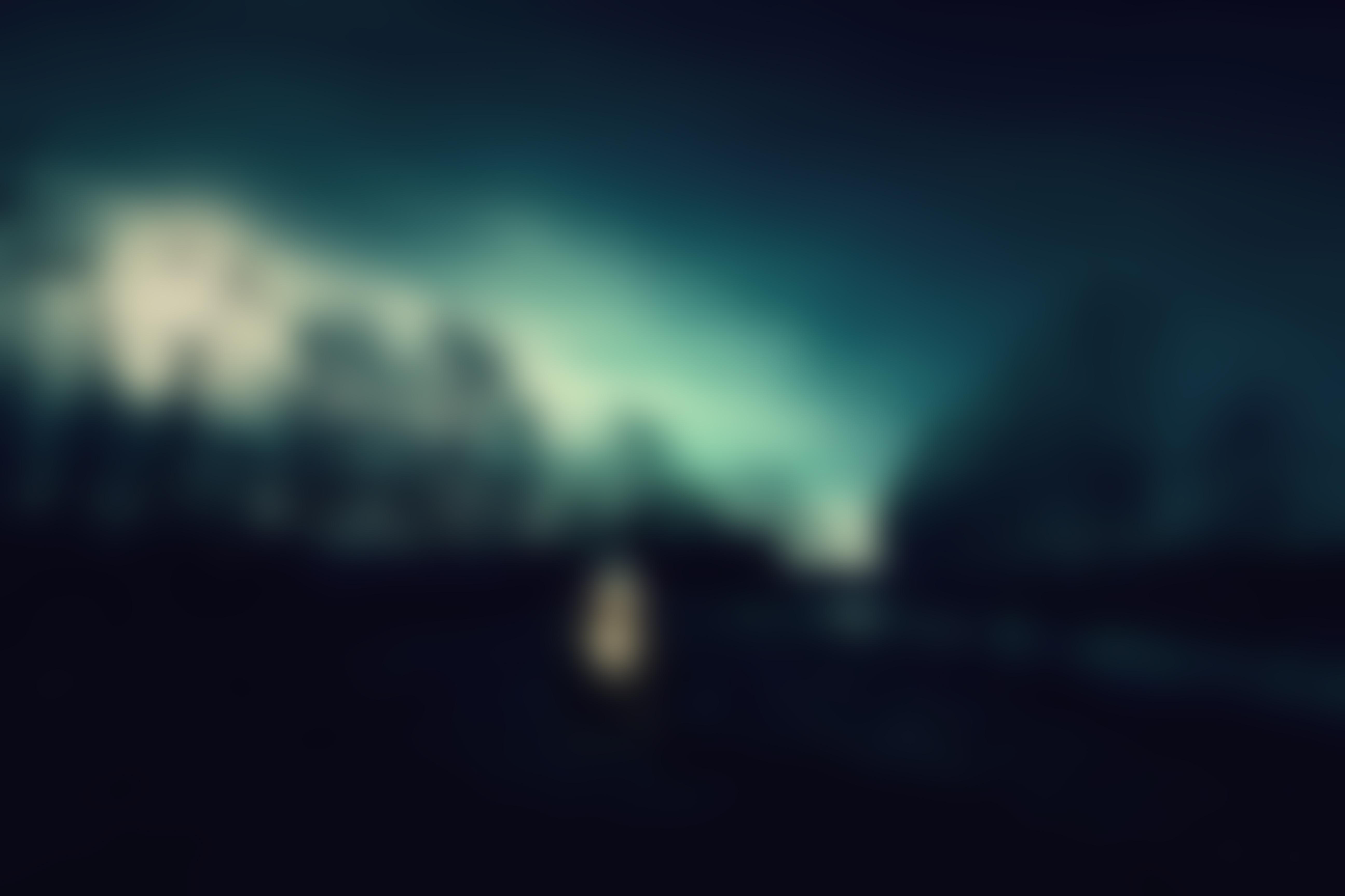 Night Dark Blur Image