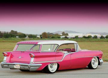 Pink Oldsmobile
