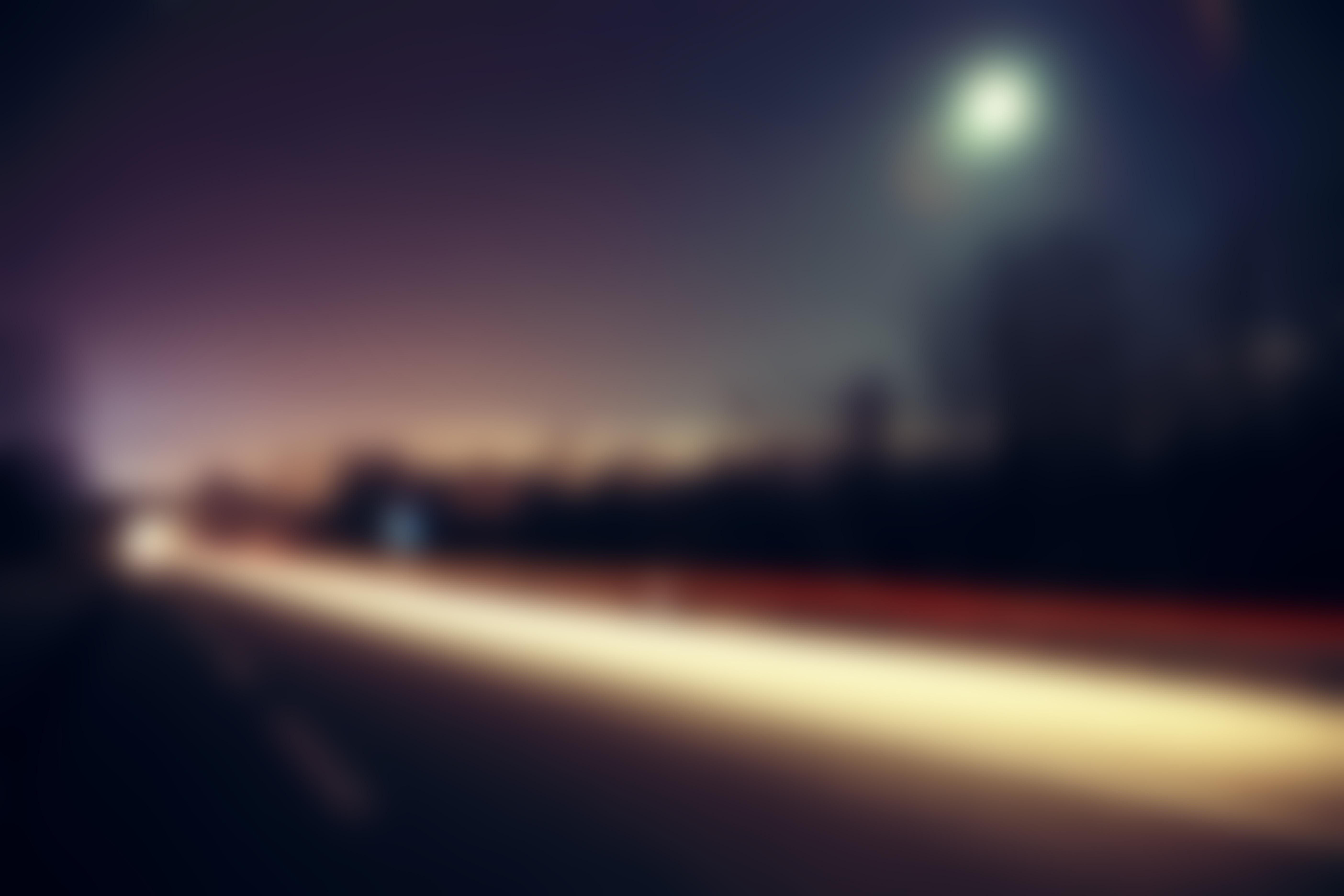 Road Street Blur Image