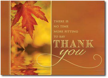 Widescreen Thanksgiving Card