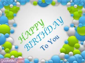 Balloons HD Happy Birthday