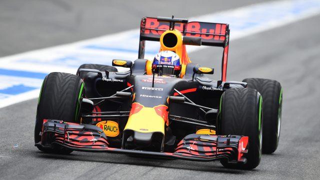 Black Formula 1 Car