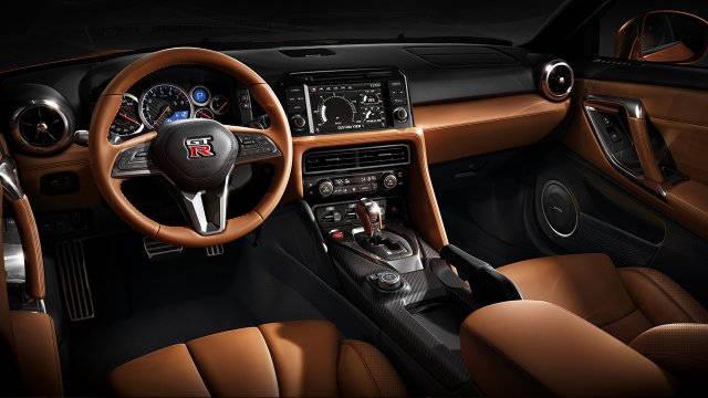 Interior Nissan GTR