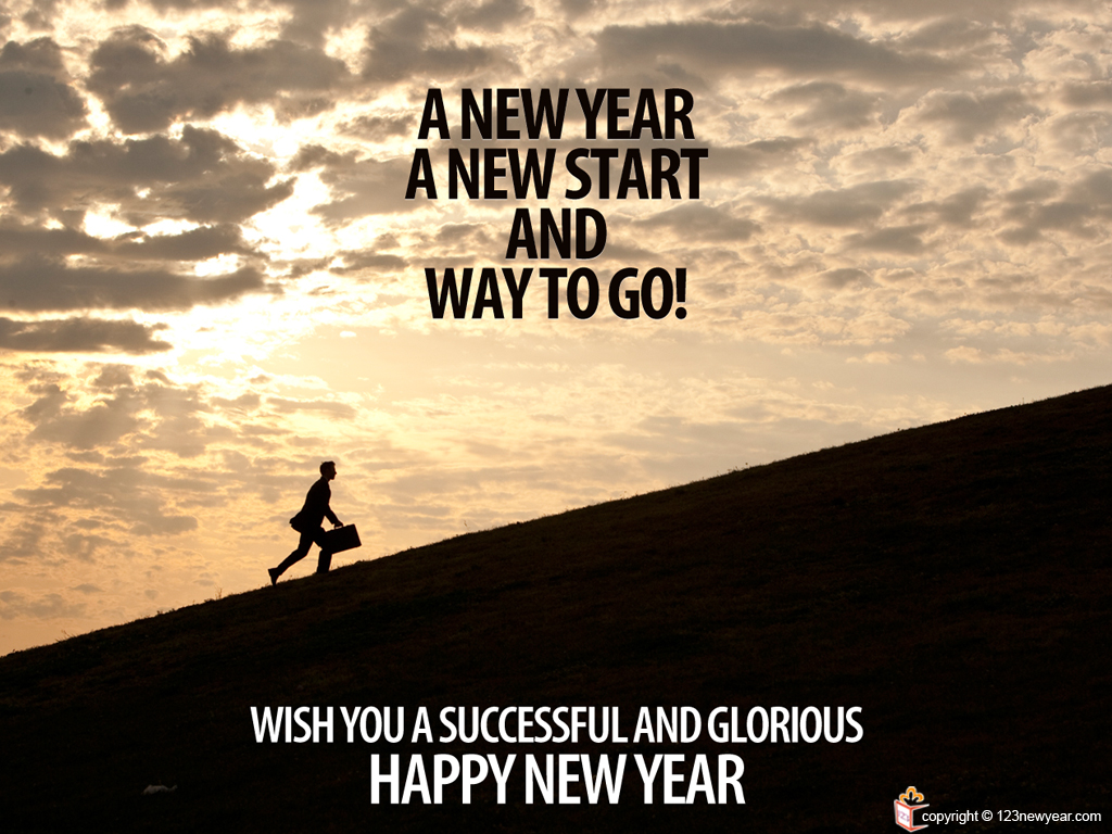 New Year Quote Motivational