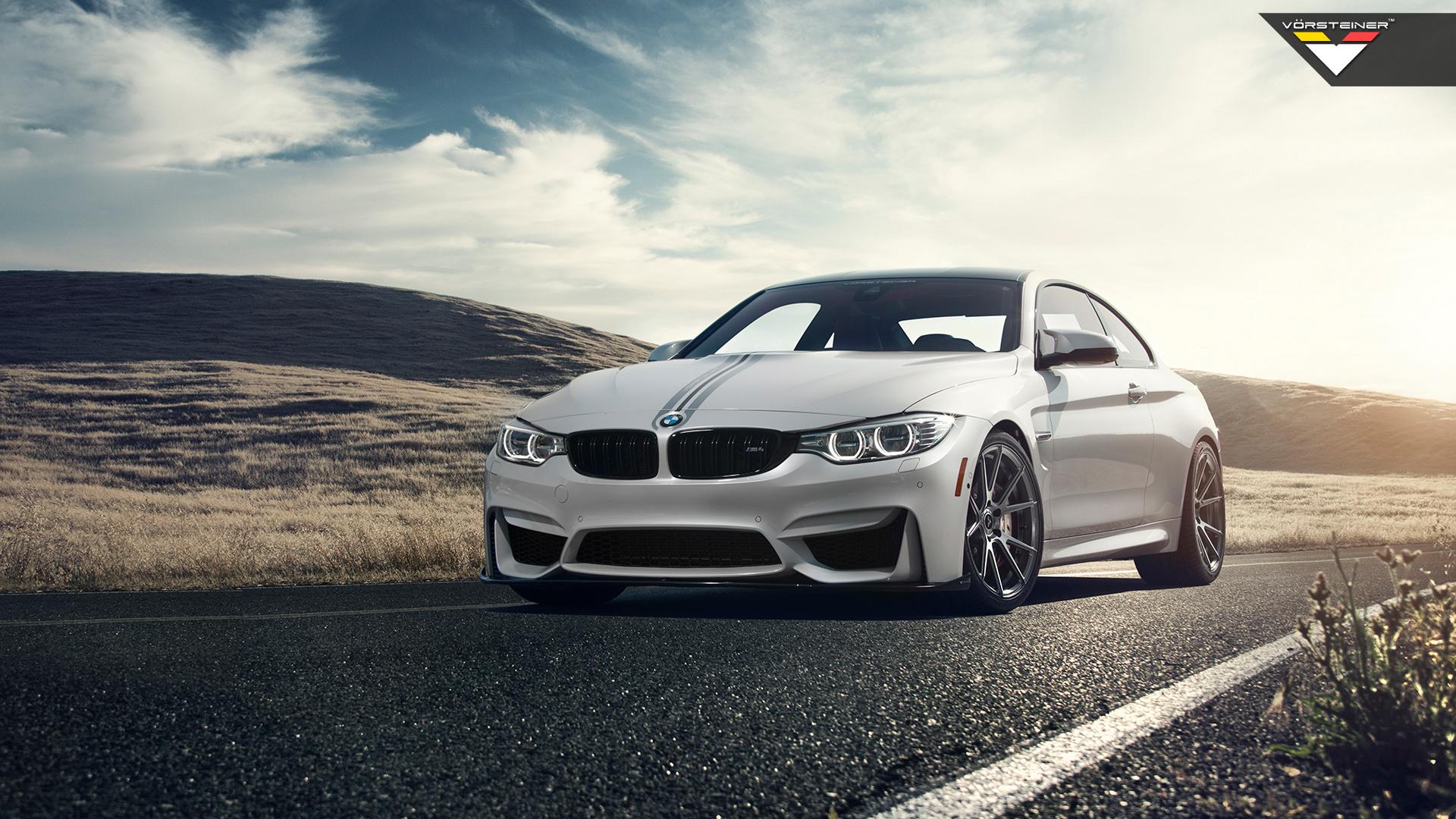 White BMW HD