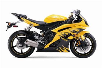 Yellow Motorbike