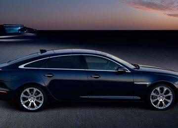 Black Jaguar XJ