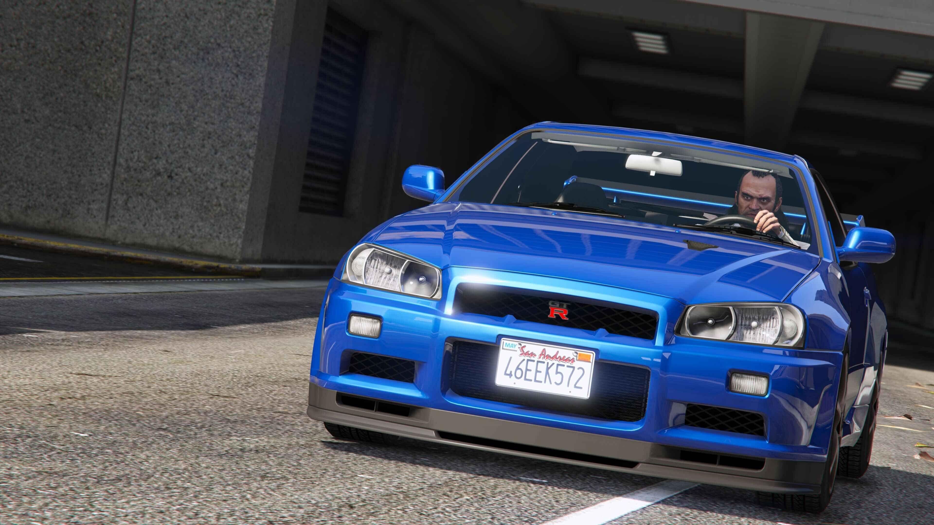 Free Nissan Skyline