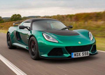 Green Lotus Exige
