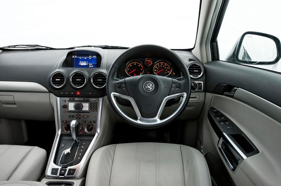 Inside Interior Vauxhall Antara