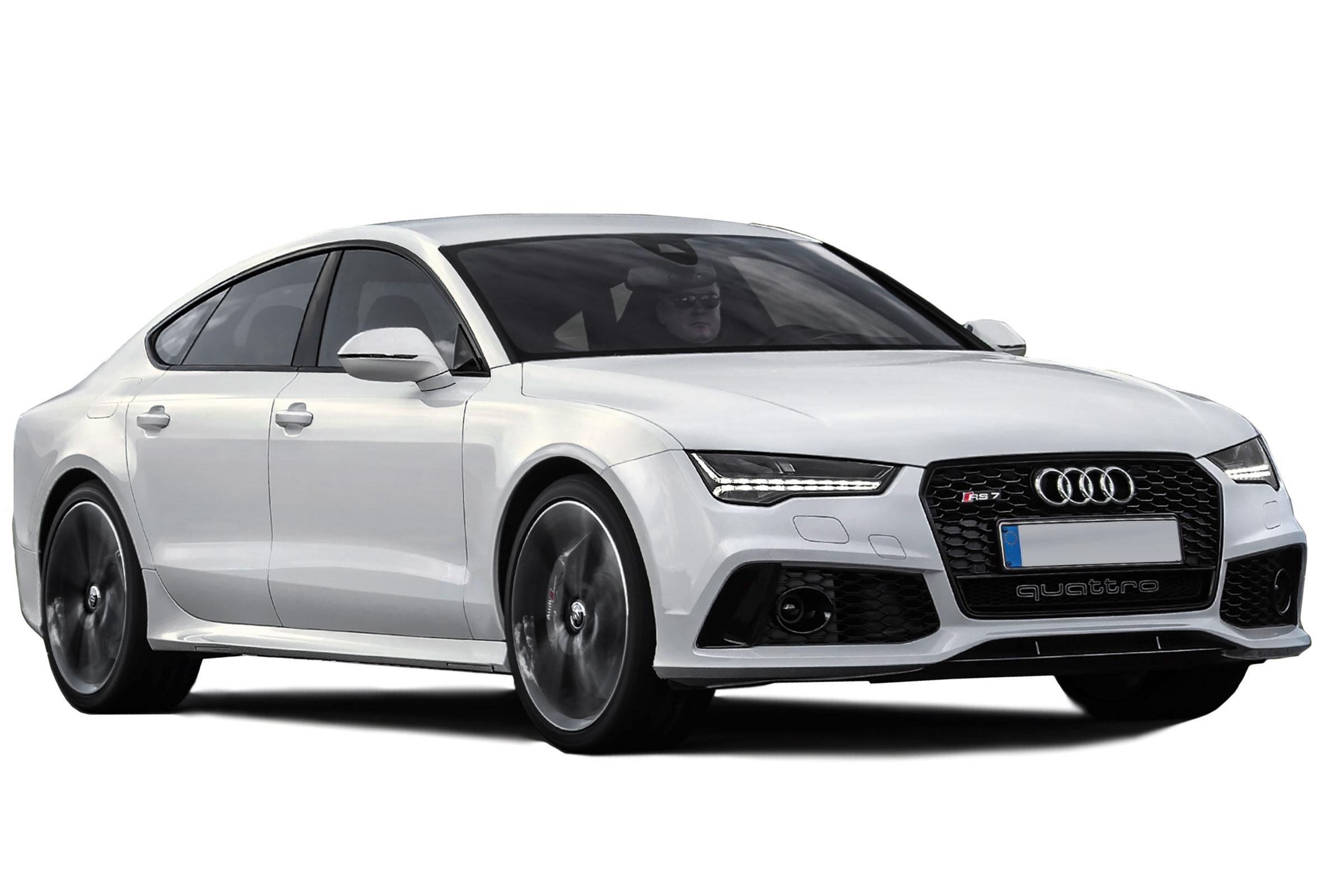 White Audi
