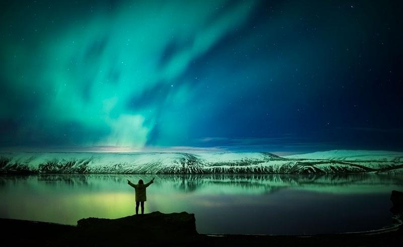 3D Northern Light