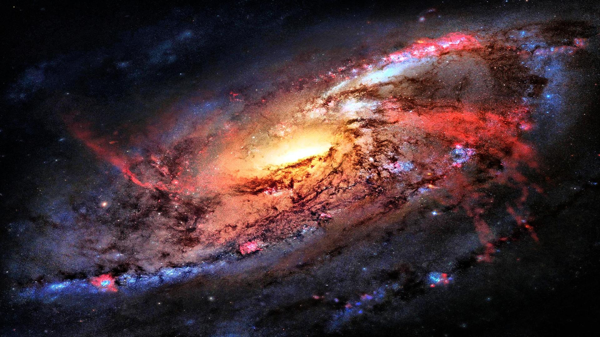 Space Flight Sky