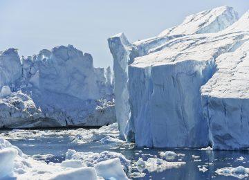Widescreen Glacier Image