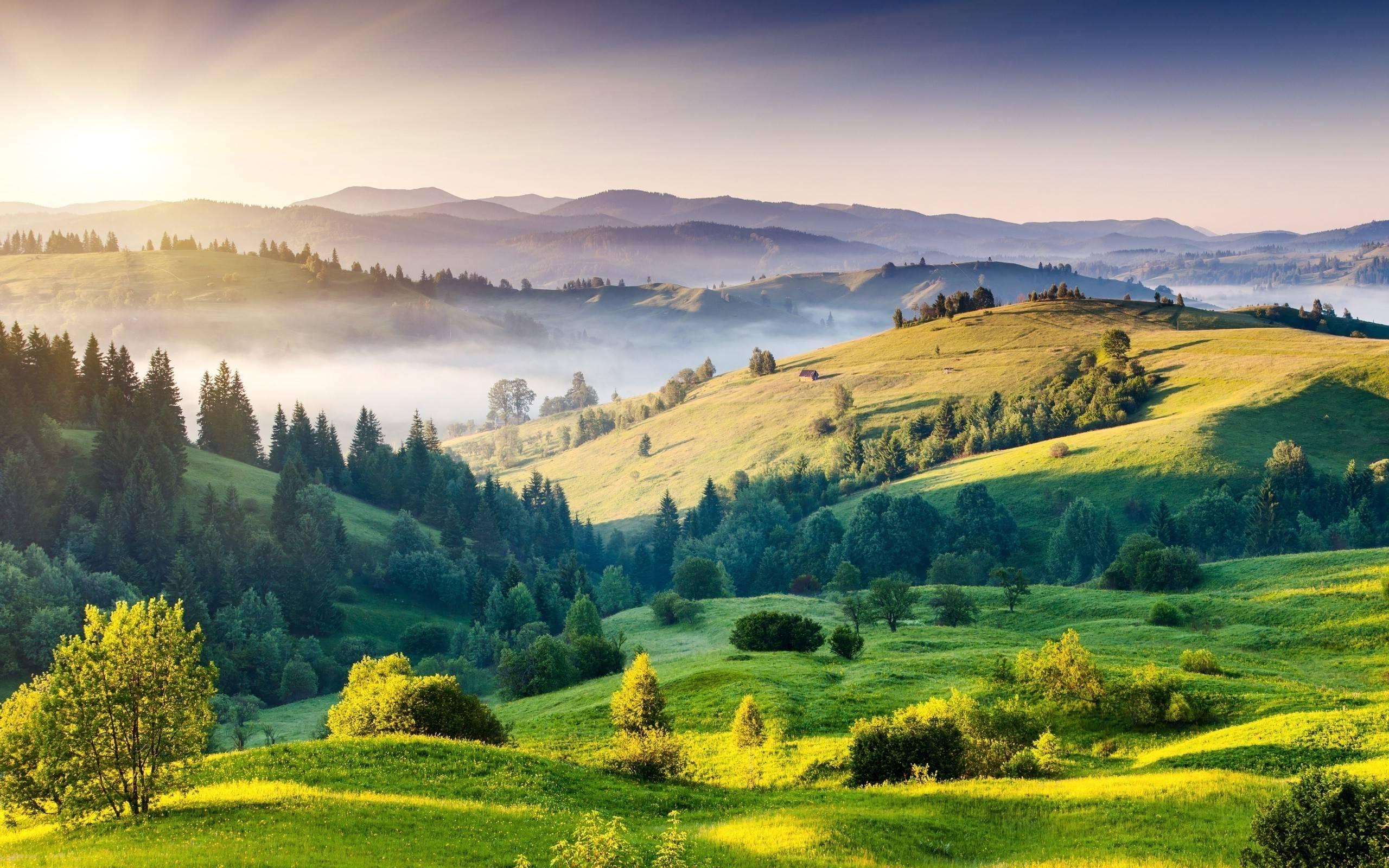 Beautiful Hills Wallpaper