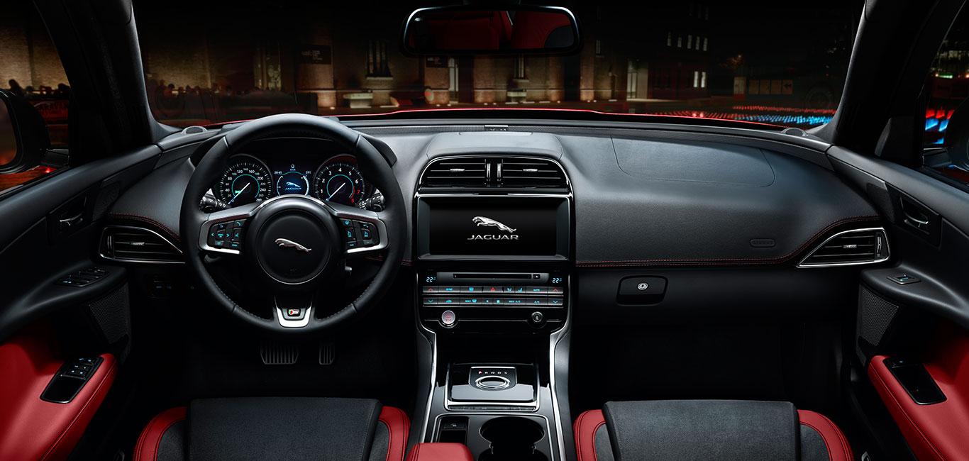 Beautiful Jaguar Interior