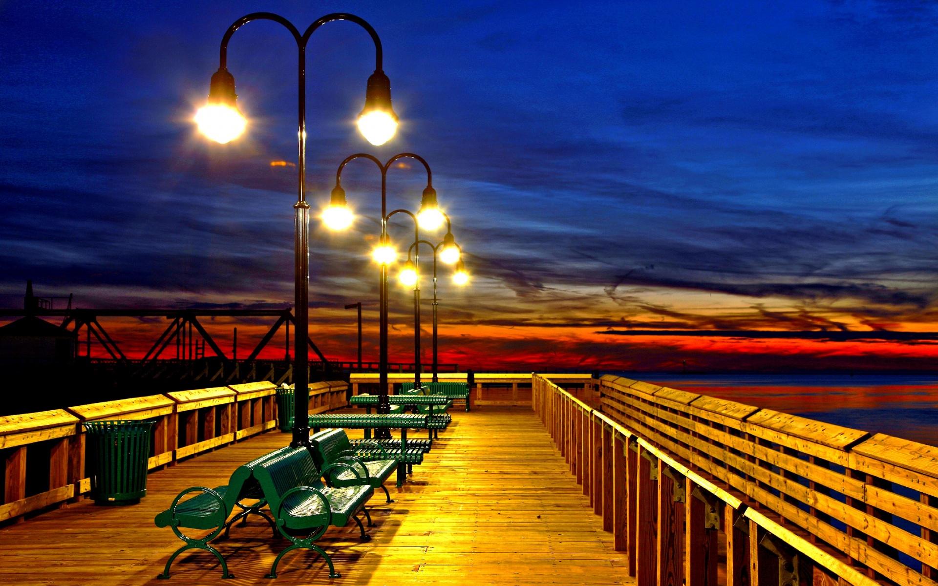 Beautiful Pier Wallpaper