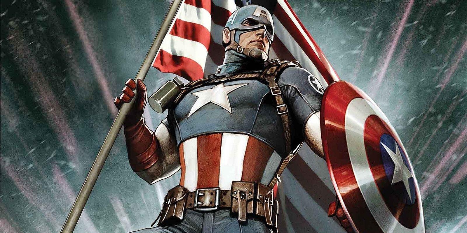 Captain America Glamour