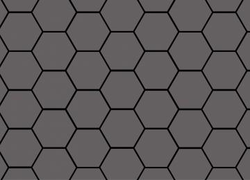Digital Hexagon Wallpaper